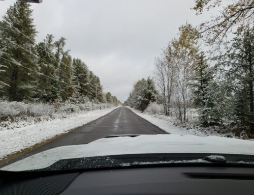 Eagle River, WI – Snow, already?!!!